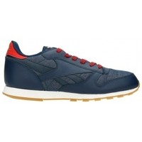 Chaussures Homme Baskets basses Reebok Sport Classic Leather DG AR2042 Granatowe