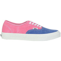 Chaussures Femme Baskets basses Vans Baskets  Authentic Slim Rose Bleu Femme Rose