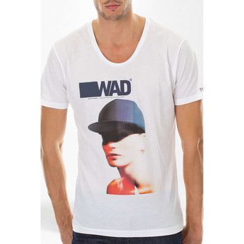 Vêtements Homme T-shirts manches courtes Wad X Thomas Paquet Tee Shirt  Wad Cover Blanc Homme Blanc