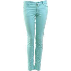 Jeans slim Chefdeville Jeans  Zstrass Turquoise Femme