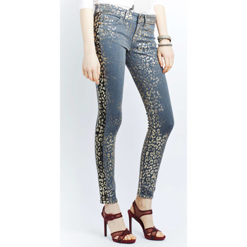 Vêtements Homme Jeans slim Rich & Royal Jeans  Super Skinny Bleu Femme Bleu