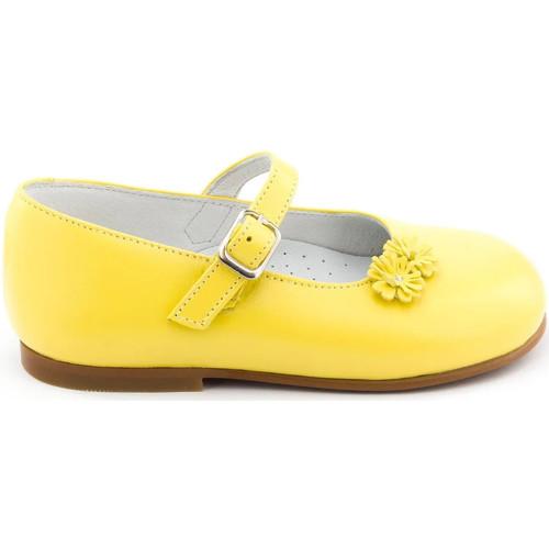 Chaussures Fille Chaussons bébés Boni Classic Shoes Boni Bouton d'Or - Chaussure fille premiers pas Jaune