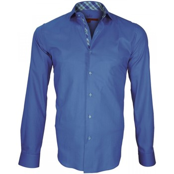 Chemise Andrew mc allister chemise a courdieres elbow bleu