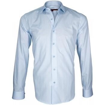 Vêtements Homme Chemises manches longues Andrew Mc Allister chemise liberty everton bleu Bleu