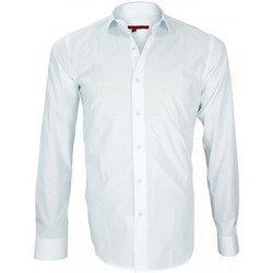 Vêtements Homme Chemises manches longues Andrew Mc Allister chemise liberty everton blanc Blanc