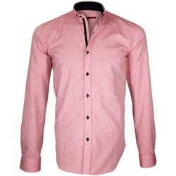 Vêtements Homme Chemises manches longues Andrew Mac Allister chemise oxford brookes rose Rose