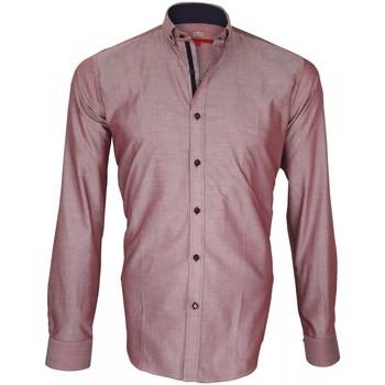 Vêtements Homme Chemises manches longues Andrew Mc Allister chemise oxford brookes bordeaux Bordeaux