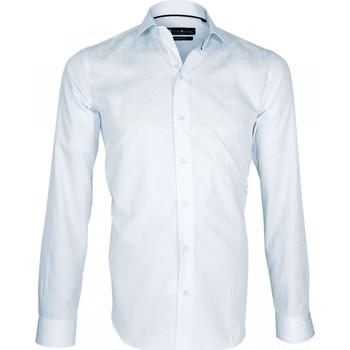 Vêtements Homme Chemises manches longues Emporio Balzani chemise habillee portofino gris Gris
