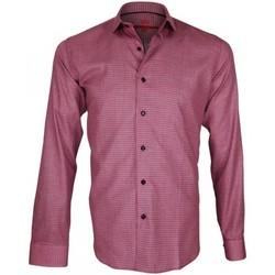 Vêtements Homme Chemises manches longues Andrew Mc Allister chemise double retors hasting rose Rose
