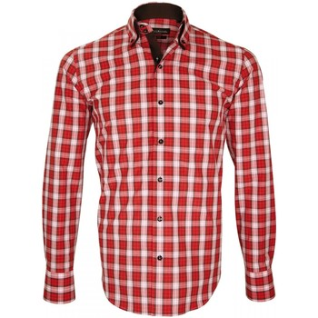 Chemise Emporio balzani chemise a courdiere donizzo rouge