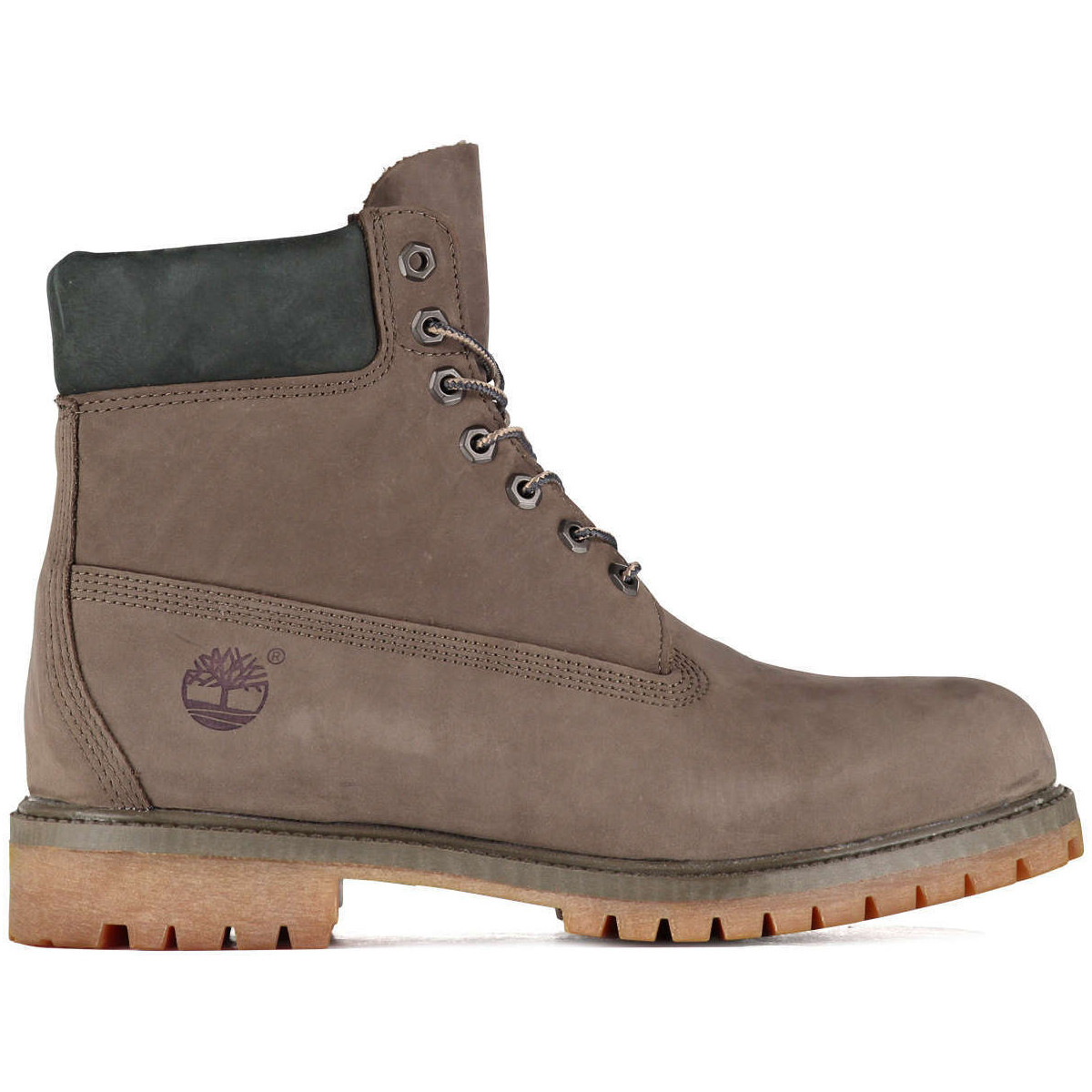 timberland boots icon 6 inch premium boot taupe homme. Black Bedroom Furniture Sets. Home Design Ideas
