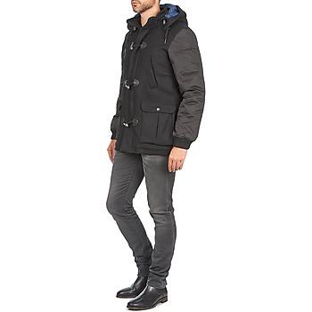 Homme Paris Noir Vêtements Kinci Eleven Manteaux 34ALR5jq