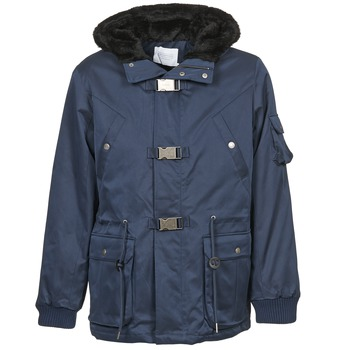 Vêtements Homme Parkas Eleven Paris KASUAL Marine