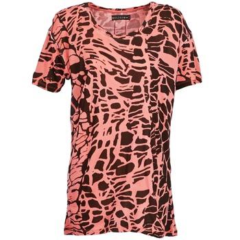 Vêtements Femme T-shirts manches courtes Religion HAWK Rouge / Noir