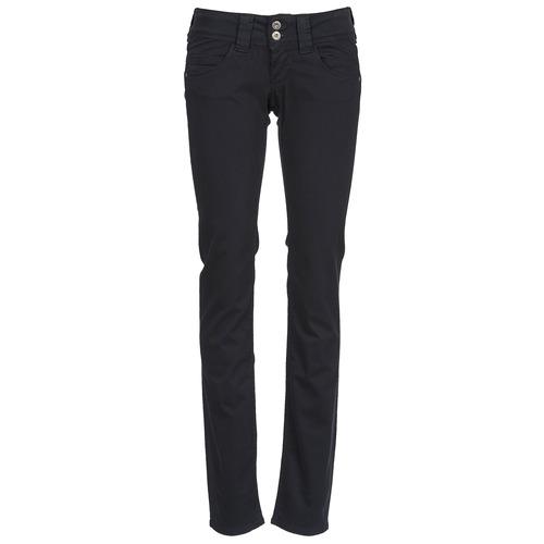 Vêtements Femme Pantalons 5 poches Pepe jeans VENUS Noir 999