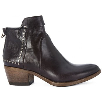 Chaussures Femme Bottines Kammi MYUS POLACCO IN PELLE Nero