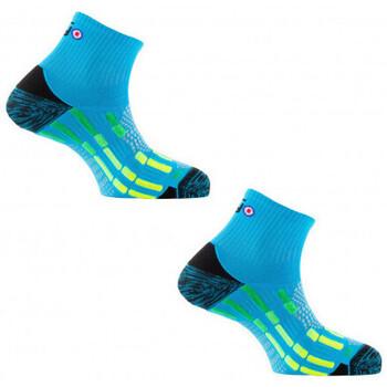 Accessoires Homme Chaussettes Thyo 1 paire achetée + 1 paire à - 50% Run - Pody Air Turquoise jaune
