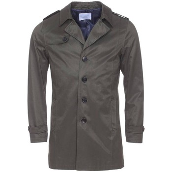 Vêtements Homme Trenchs Selected - trench, imperméable KAKI