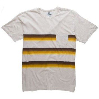 Vêtements Homme T-shirts & Polos Vissla T-shirt  Glass On Crew Natural Ivoire