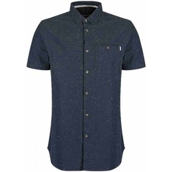 Vêtements Homme Chemises manches courtes Bench Chemise  Weightless Ny011 Dark Navy Bleu Marine