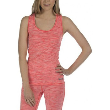 Vêtements Femme Débardeurs / T-shirts sans manche Bench Debardeur Sport  Hotspot Or090x Bright Orange Marl Rose