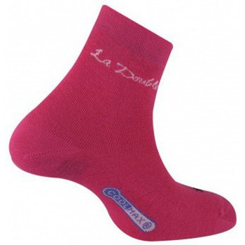 Chaussettes Thyo Socquette  Club Double Fuschia