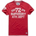 Superdry T-shirt  Trackster S/s Tee Indiana Red