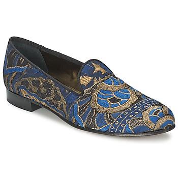 Chaussures Femme Mocassins Etro 3046 Noir / Bleu