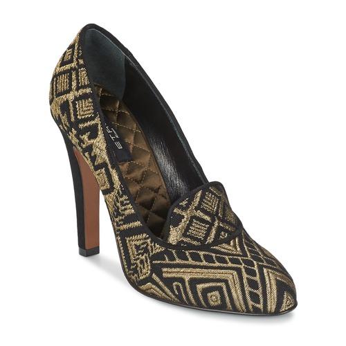 Chaussures Femme Escarpins Etro 3055 Noir / Or