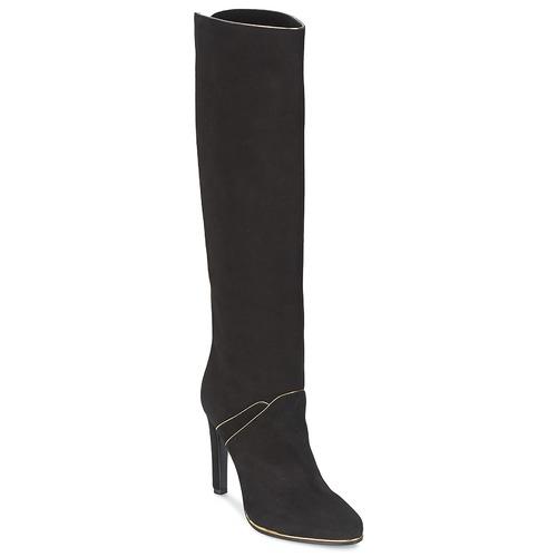Chaussures Femme Bottes ville Etro 3119 Noir / Or