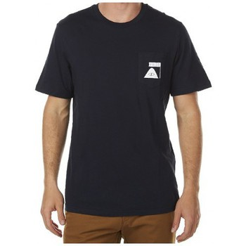T-shirts manches courtes Poler T-shirt  Summit Pocket Tee Navy