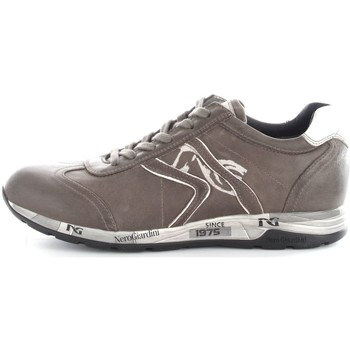 Chaussures Homme Baskets basses Nero Giardini A604460U Basket Homme Verdegris/White Verdegris/White