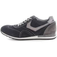 Chaussures Homme Baskets basses Nero Giardini A604470U Basket Homme Blue/Cement/Grey Blue/Cement/Grey