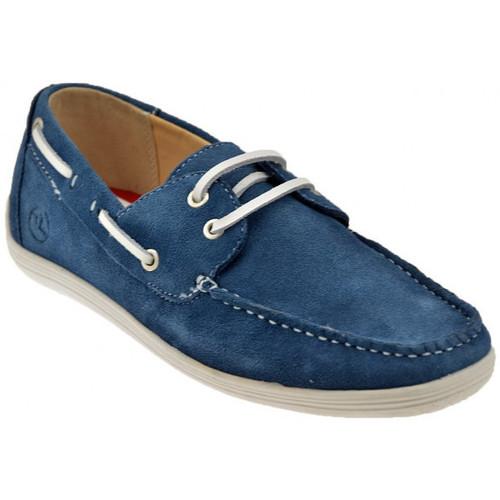 Chaussures Homme Chaussures bateau Lumberjack Cartouche bas de sport Baskets basses bleu