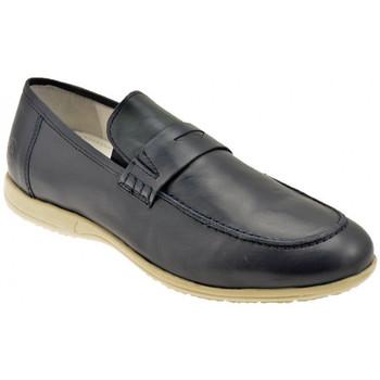 Chaussures Homme Mocassins Lumberjack Xoffice SlipOn Baskets basses Bleu