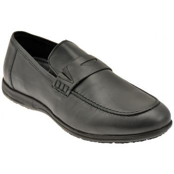 Chaussures Homme Mocassins Lumberjack Xoffice SlipOn Baskets basses Noir
