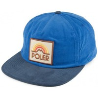 Casquettes Poler Casquette Mtn Sunset Grampa Cordy Royal Blue