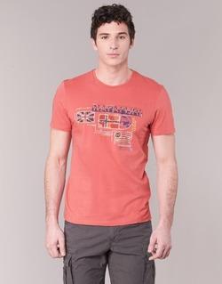 Vêtements Homme T-shirts manches courtes Napapijri VINTAGE Corail
