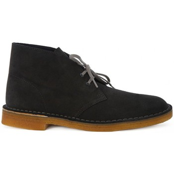 Chaussures Bottines Clarks DESERT BOOT GREY    157,5
