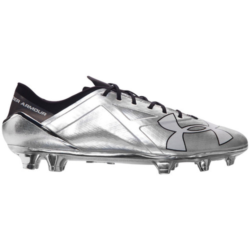 Chaussures Homme Football Under Armour Spotlight MTLC FG Silbern