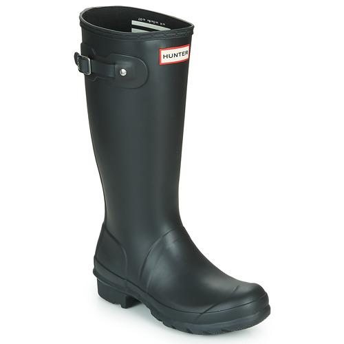 Chaussures Enfant Bottes de pluie Hunter ORIGINAL KIDS Noir
