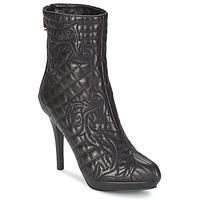 Chaussures Femme Bottines Versace MARGHERITA Noir