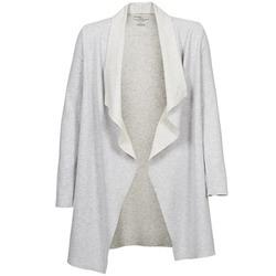 Vêtements Femme Gilets / Cardigans Majestic 2002 Ecru