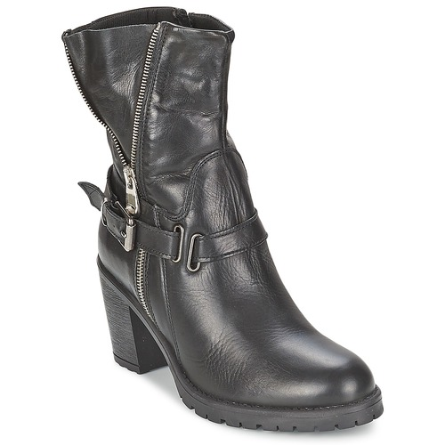 Chaussures Femme Bottines Casual Attitude FANYE Noir