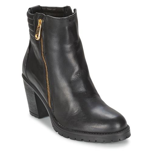 Chaussures Femme Bottines Casual Attitude ELE Noir