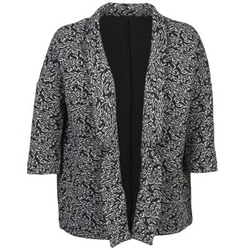 Vêtements Femme Vestes / Blazers Sisley FRANDA Noir / Gris