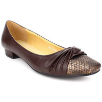 Chaussures Femme Ballerines / babies Cendriyon Ballerines Marron Chaussures Femme, Marron