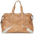 Sacs Femme Sacs porté épaule Pieces JACE LEATHER TRAVEL BAG Cognac / Argent