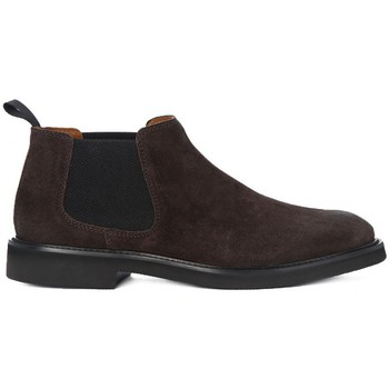 Chaussures Homme Ville basse Frau SUEDE CAFFE Marrone