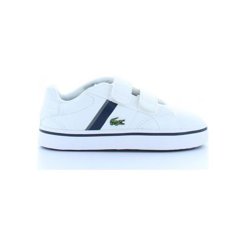 Chaussures Enfant Baskets basses Lacoste 32SPI0110 FAIRLEAD Blanco
